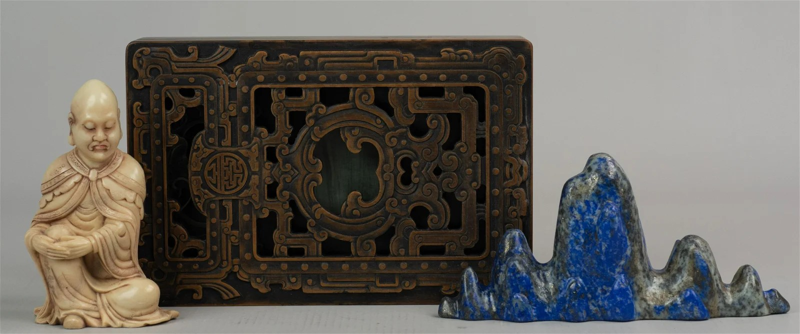 (3) Chinese scholar's items