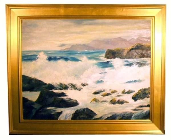 Oil On Canvas By California Artist Bennett Bradbury Oct 20 2014