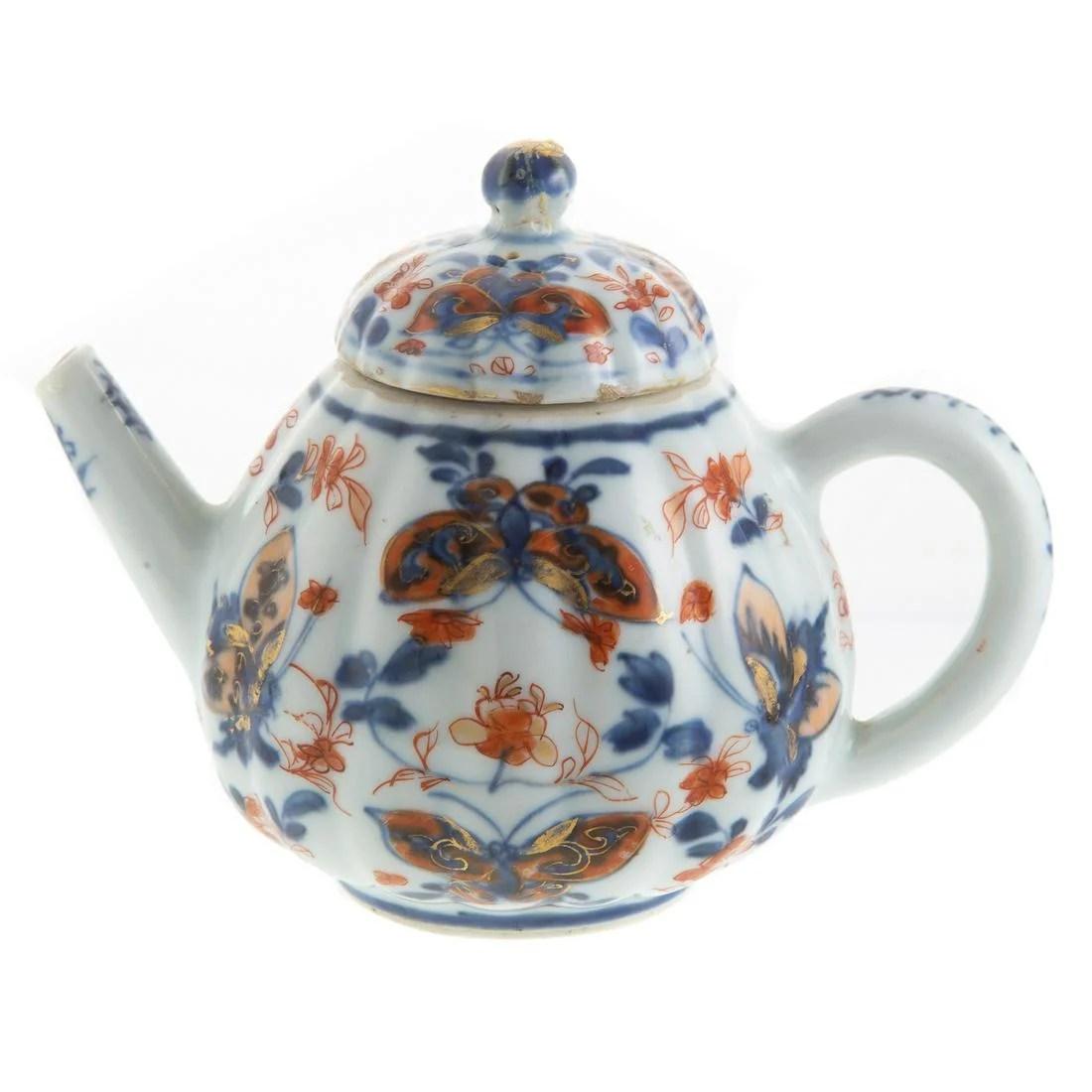 Chinese Export Imari Teapot