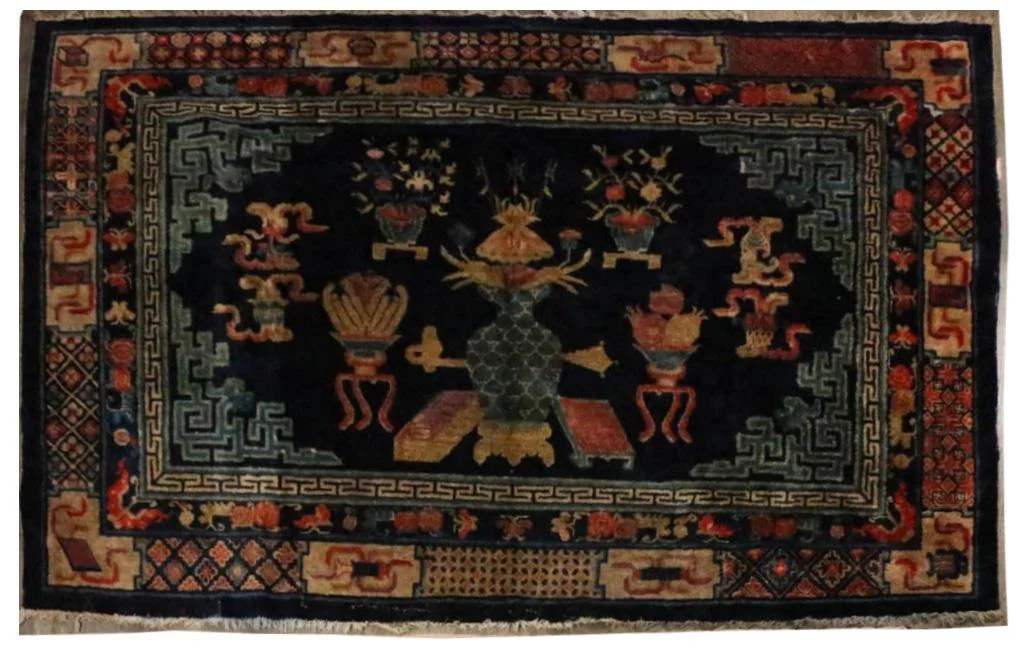 A CHINESE NINGXIA CARPET