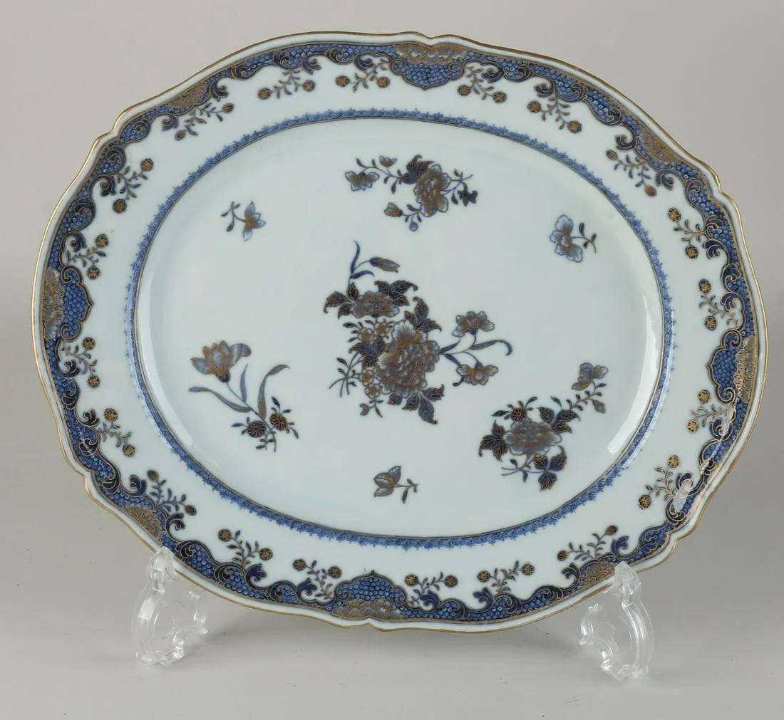 18th Century Queng Lung Bowl