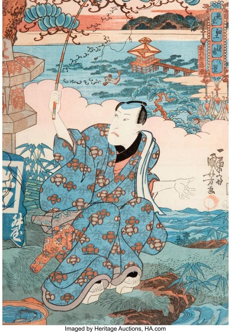 78413: Utagawa Kuniyoshi (Japanese, 1798-1861) Nobleman