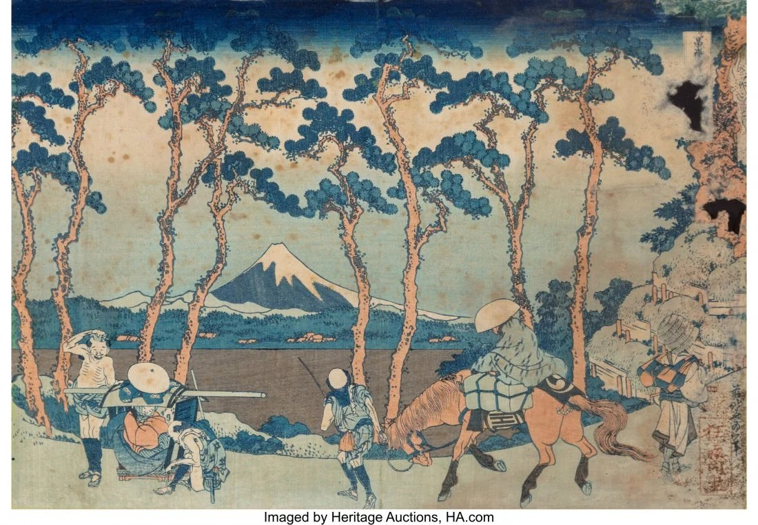 78414: Katsushika Hokusai (Japanese, 1760-1849) Thirty-