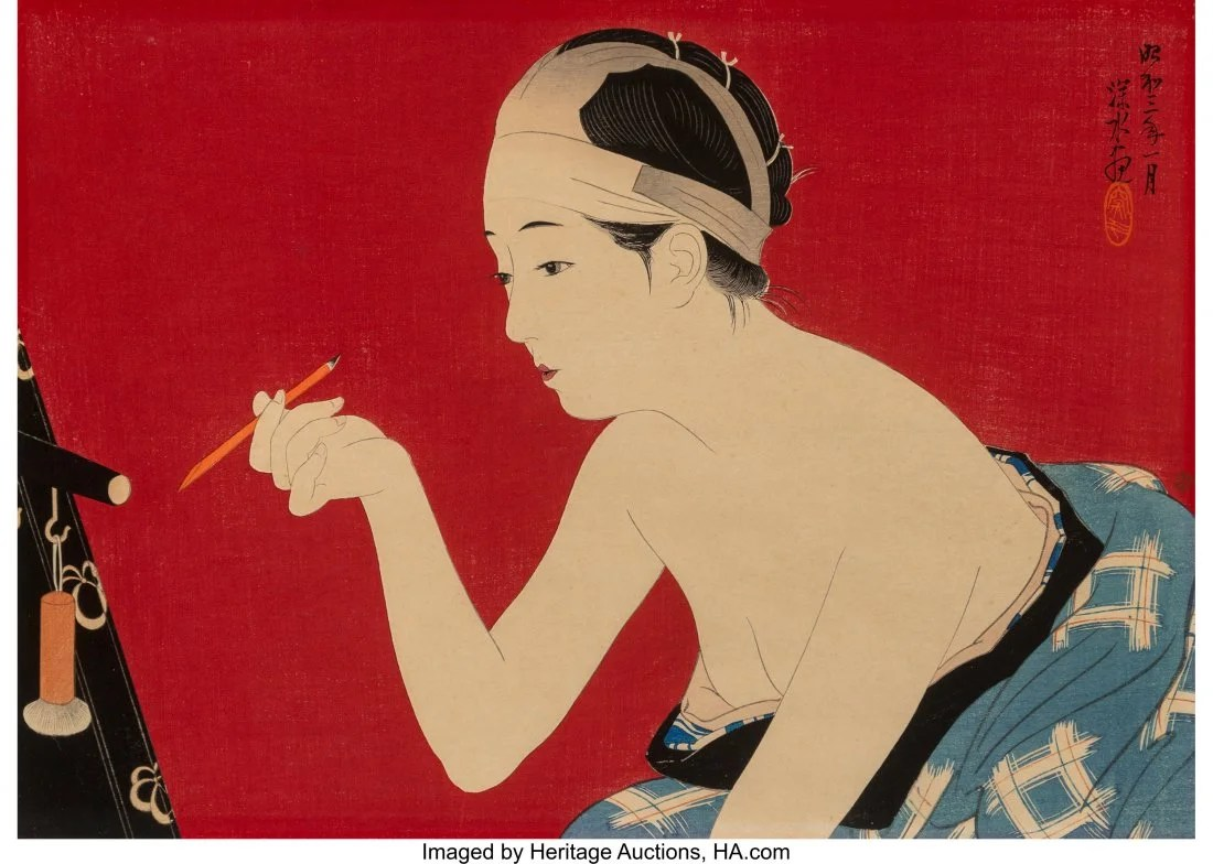 78418: Ito Shinsui (Japanese, 1898-1972) and Torii Koto