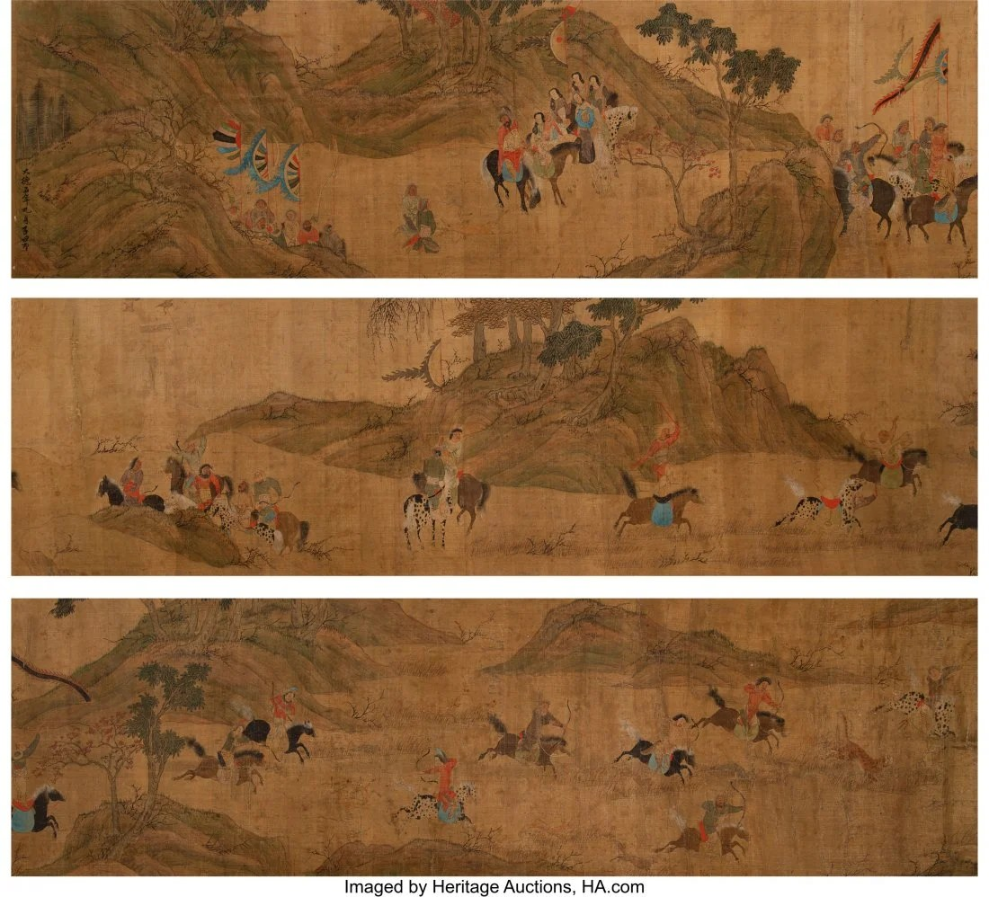 78315: After Zhao Mengfu (Chinese, 1254-1322) Hunting