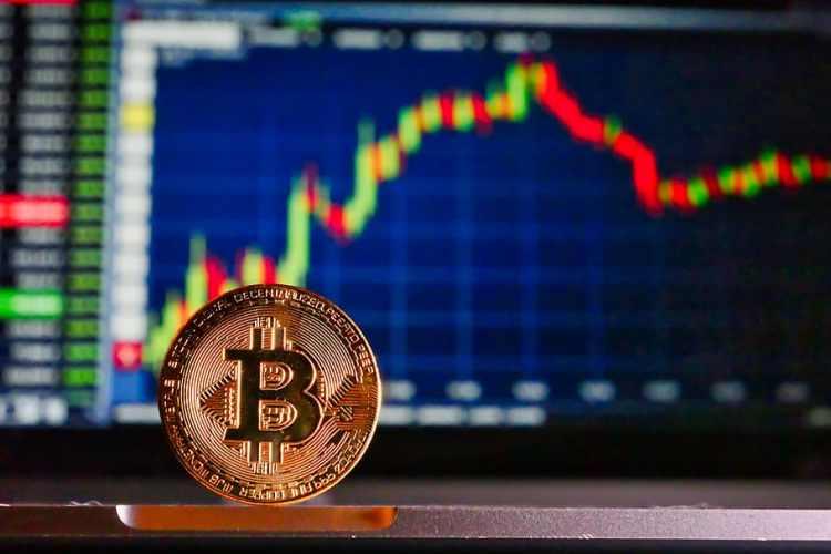 bitcoin, mesa, cursos, virtual, criptografía, moneda, dinero ...