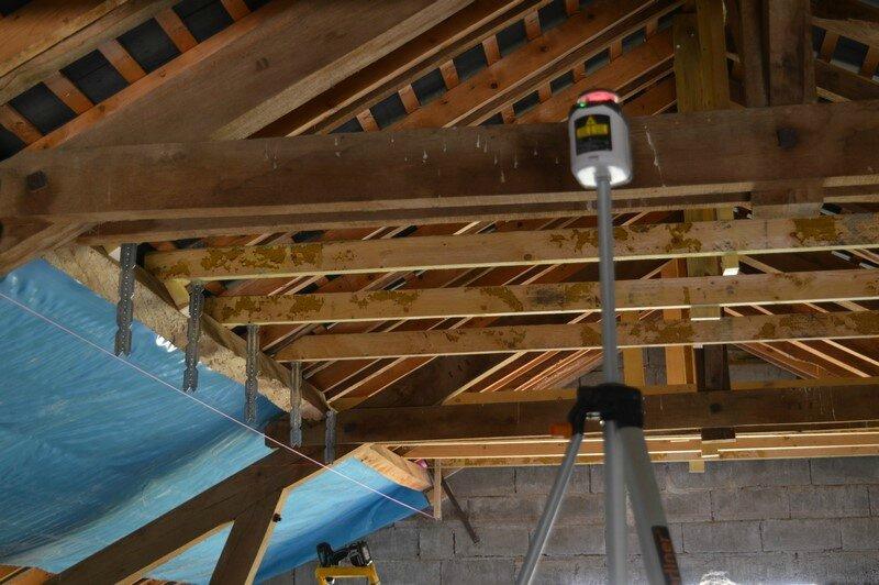 Rail Placo Plafond Etage La Petite Grange Dans La Prairie