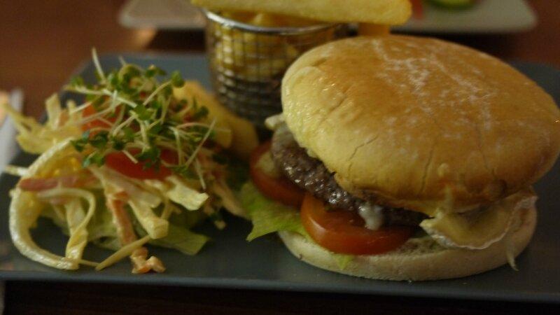 Un Burger au chevreuil