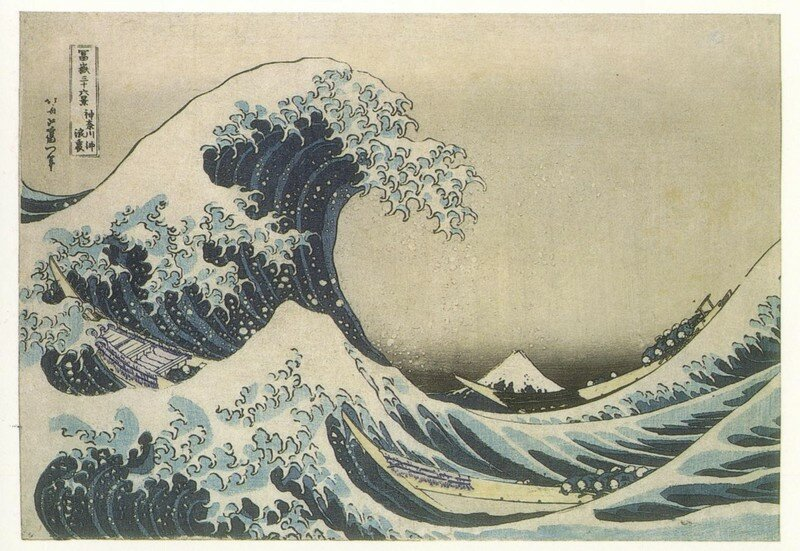 Hokusai - 36 vues du mont Fuji - Photo de Estampes - Ukiyo ...