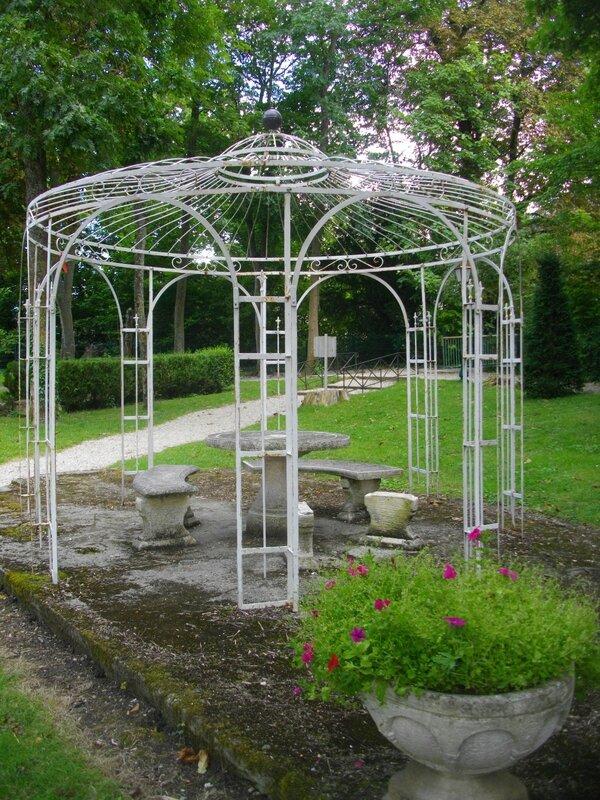 Kiosque Jardin Bois Exotique