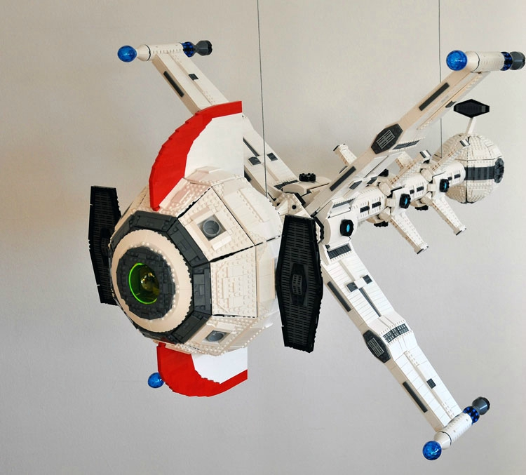 Captain Future Raumschiff