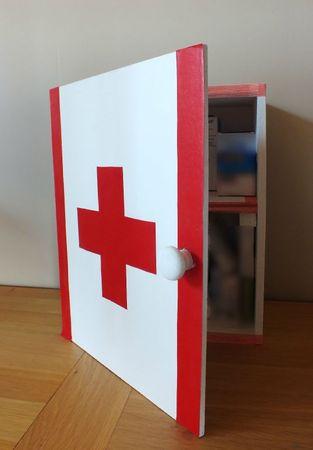 DIY Dco Rcup Faire Une Armoire Pharmacie Avec Une
