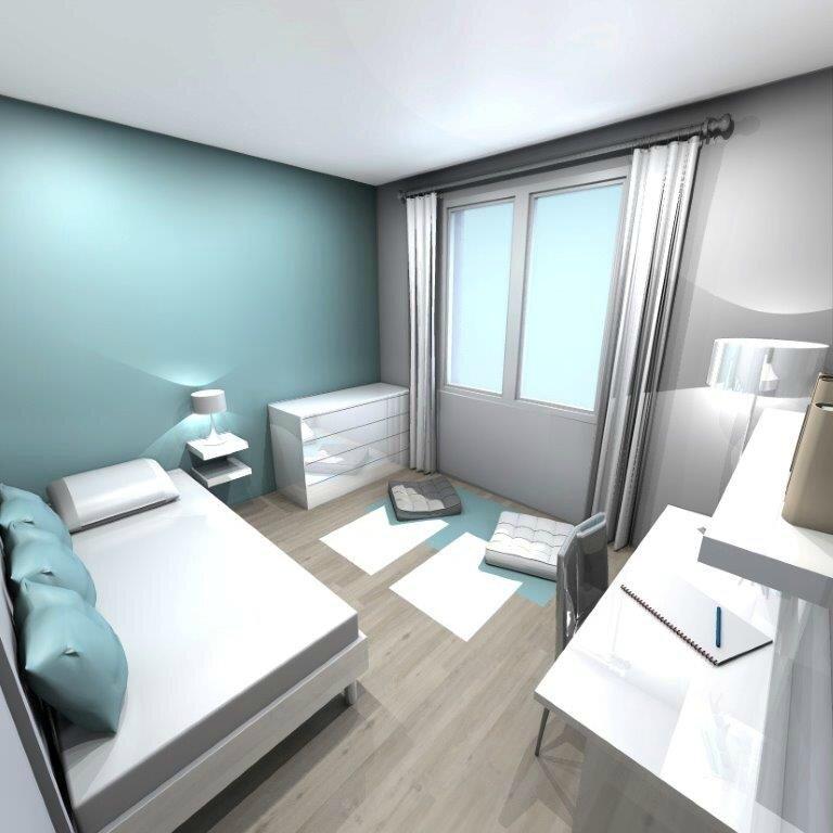 Appartement Marseille Chambre Projet 3d Stinside Architecture D Interieur