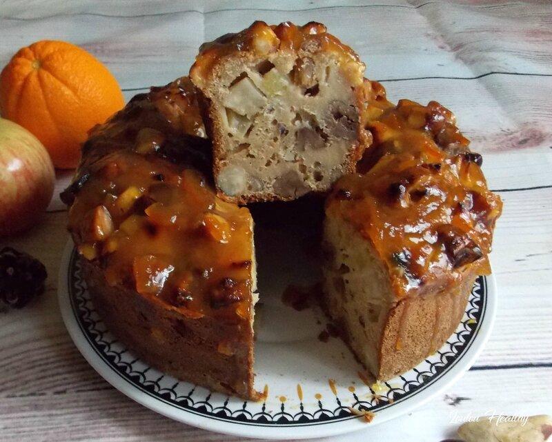 cake à l'orange, aux noix du brésil et chataignes4