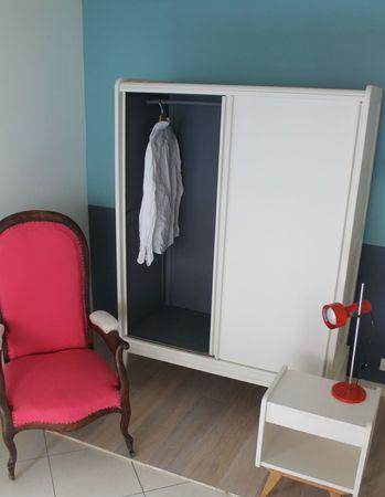 armoire penderie petite hauteur