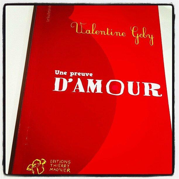 Une Preuve Damour De Valentine Goby Les Facties De Lucie