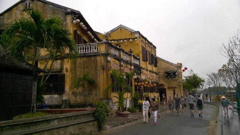 Les murs jaunes de Hoi An