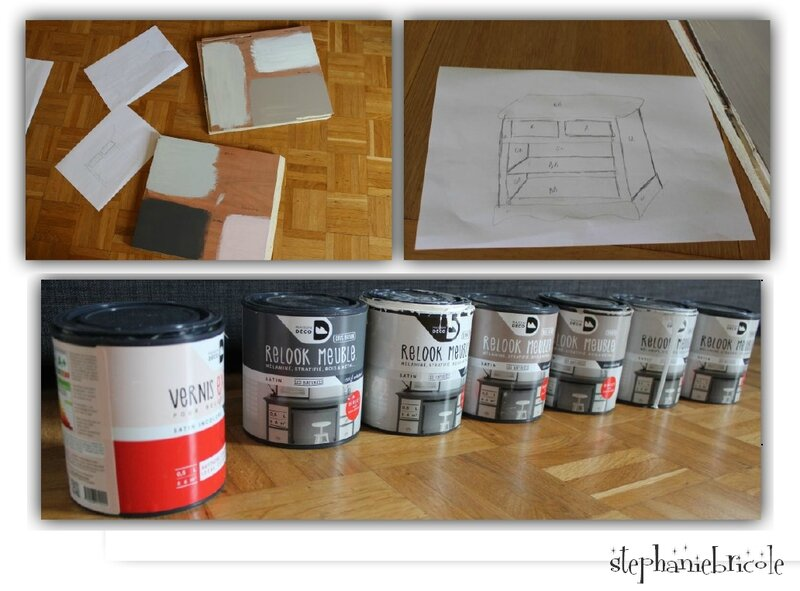 peinture relooker meuble