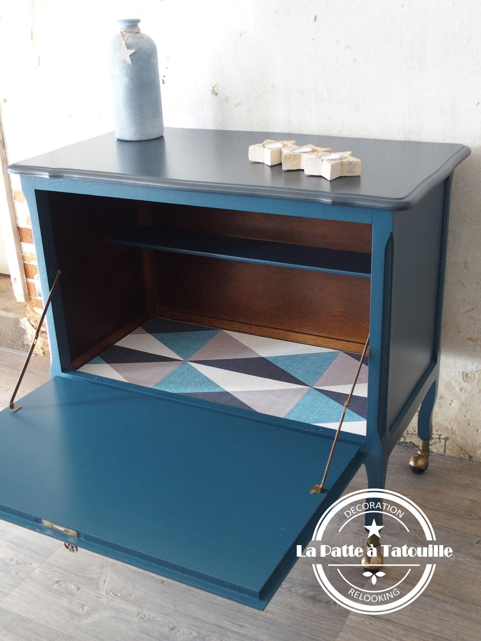 relooking meuble tv bar la