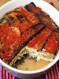 Moussaca vegetariana, suculenta adaptación del plato tradicional griego que usa carne. Foto: Getty Images