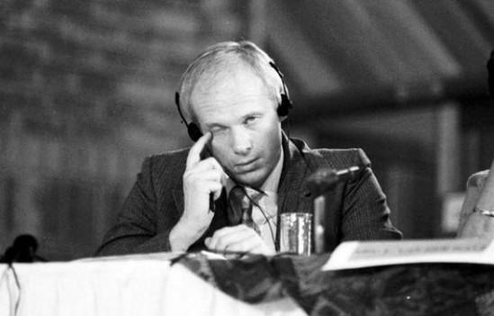 Janusz Waluś podczas przesłuchania - zdjęcie archiwalne (Agencja Gazeta, Fot: Piotr Janowski)