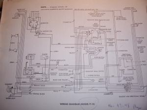 1948 Plymouth wiring diagram  Electrical  P15D24