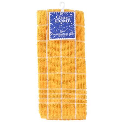 Wholesale Solid White Kitchen Towel Stripes