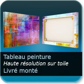 impression Affiches Toile à tableau - Toile Canvas 400g - impression - recto seul