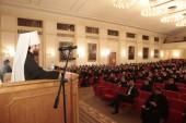 Preşedintele Departamentului sinodal pentru relaţii externe bisericeşti a relatat studenţilor şcolilor teologice din Moscova despre situaţia din prezent a Bisericii Ortodoxe Autonome Chineze