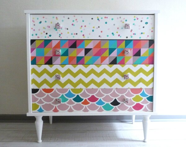 DIY Relooking Dune Vieille Commode Pitimana Le Blog