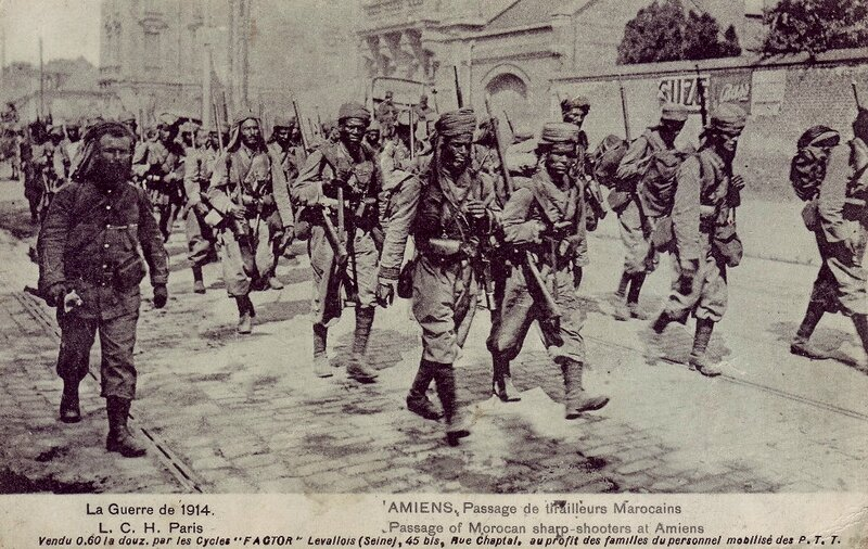 Tirailleurs sénégalais Amiens 1914 (1)