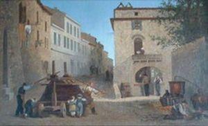 Pressoir de Mallet, place Voltaire au Teil