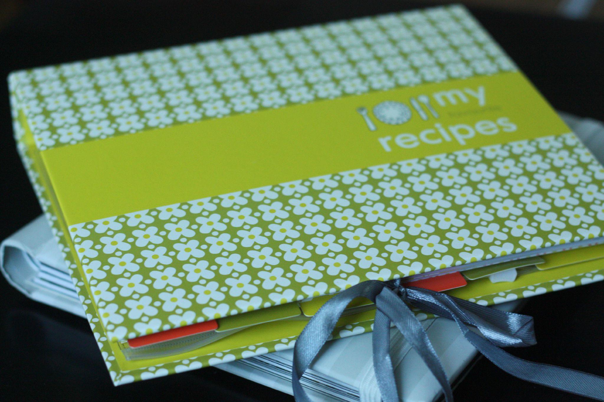 classeur de recettes hema blog chez requia cuisine et confidences with crer un livre de cuisine personnalis