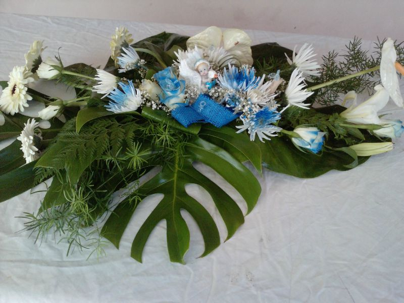 7 Composition Florale Pour Baptme2500 Photo De