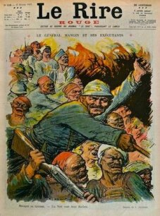 caricature Mangin 1917