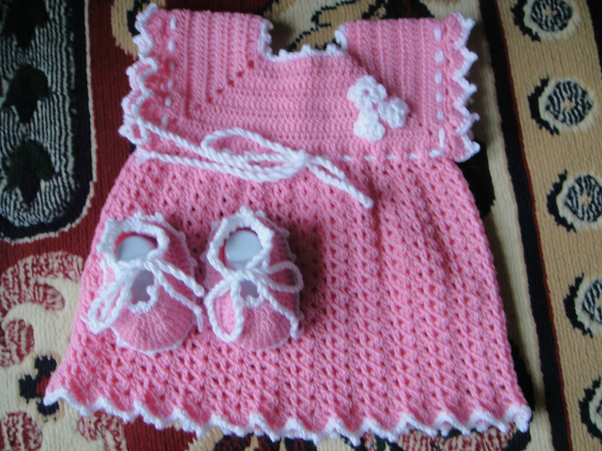 Comment Tricoter Robe En Crochet