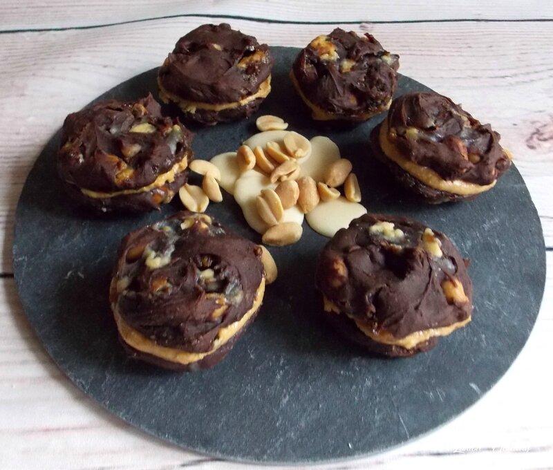 cookies à l'avocat, au chocolat blanc et cacahuètes2