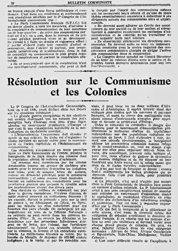 Bull comm fév 1922 Colonies (1)
