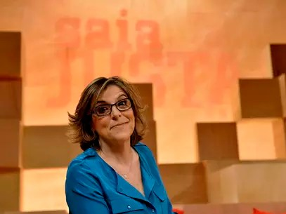 A jornalista Barbara Gancia tem 55 anos Foto: Fernando Borges / Terra