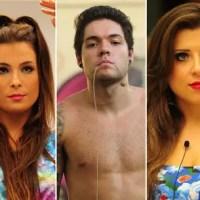 Resultado Final do Paredão do BBB 13 (12/03/2013) Entre Andressa, Nasser e Kamilla