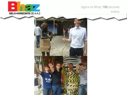 Trote polêmico foi alvo de críticas nas redes sociais Foto: Belo Horizonte de A a Z / Reprodução
