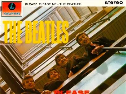 Capa do CD 'Please Please Me' Foto: Divulgação