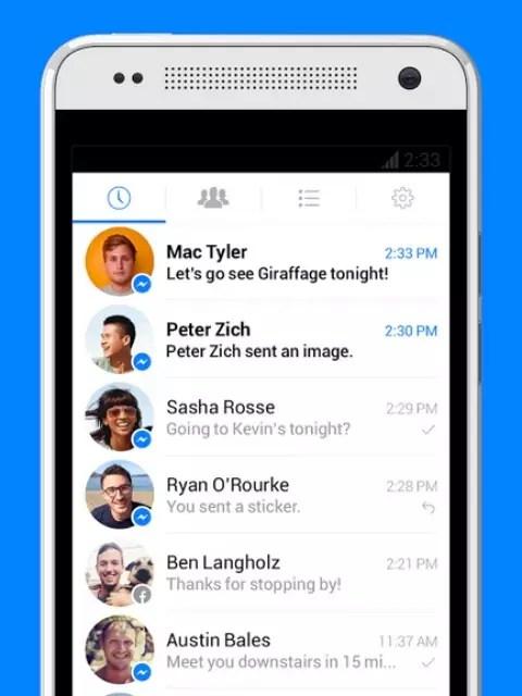 App Facebook Messenger Foto: Reprodução