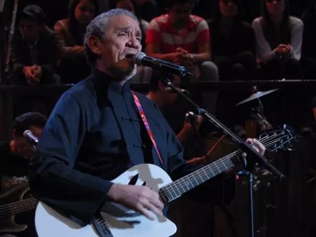 Músico de 63 anos está internado no Hospital Samaritano desde segunda-feira Foto: TV Globo / Divulgação