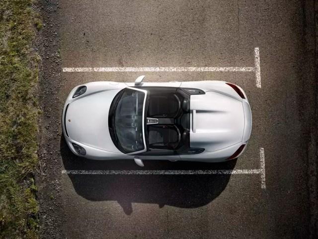 El Porsche Boxster Spyder 2016. Foto: Porsche