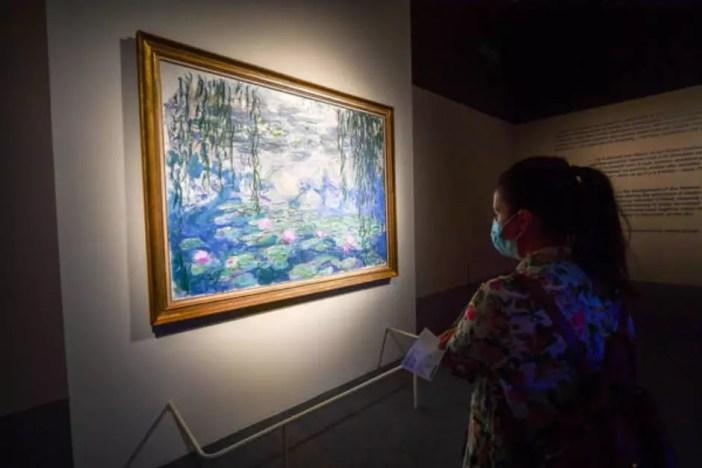 Mostra de Monet não chegou a ser realizada na Itália em março por conta da pandemia Foto: ANSA / Ansa