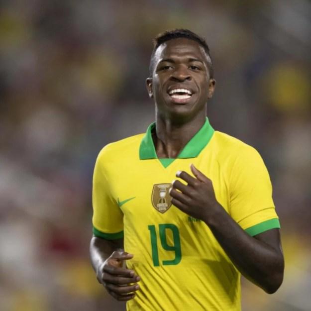 Resultado de imagem para Vinicius Júnior, ontem, contra o Peru