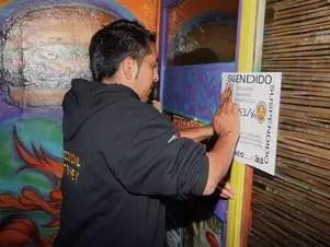 Un bar y tres restaurantes fueron clausurados en los diferentes operativos que lleva a cabo el Ayuntamiento de Monterrey Foto: Especial / Terra