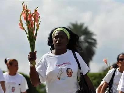 Viaja a España la líder de las disidentes cubanas Damas de Blanco Foto: Agencia EFE / © EFE 2013. Está expresamente prohibida la redistribución y la redifusión de todo o parte de los contenidos de los servicios de Efe, sin previo y expreso consentimiento de la Agencia EFE S.A.