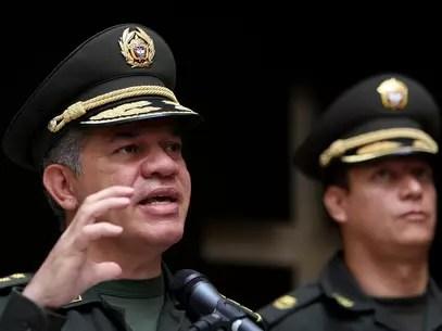 El director de la Policía, general José Roberto León Riaño, aseguró que las Farc con las responsables del 60% de la producción de droga en el país.. Foto: EFE en español